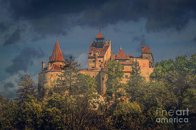 Architecture Photograph - Dracula's Castle 1 by Claudia M Photography