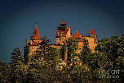 Autumn Photograph - Dracula's Castle by Claudia M Photography