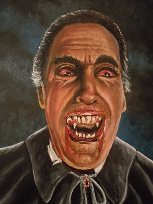 Painting - Dracula's Horror by James Guentner