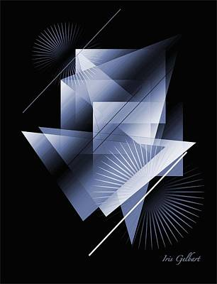 Digital Art - Drafting 2 by Iris Gelbart
