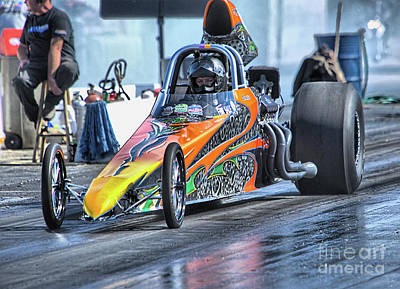 Sports Photograph - Drag Racing 05 by Randy Matthews