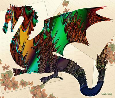 Drago Art Print