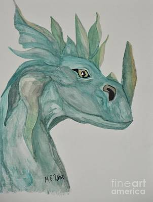 Painting - Drago by Maria Urso