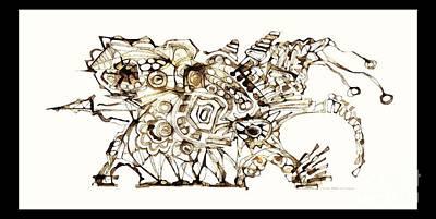 Digital Art - Dragon 3999 by Marek Lutek