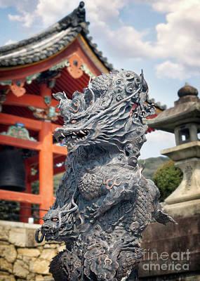 Photograph - Dragon At West Gate Of Kiyomizudera by Karen Jorstad