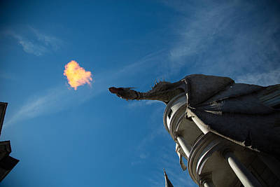 Photograph - Dragon Atop Gringotts by Allan Morrison
