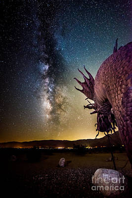 Photograph - Dragon Attacks Borrego Springs by Jim DeLillo