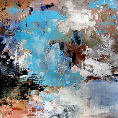 Painting - Dragon Bleu by Diane Desrochers