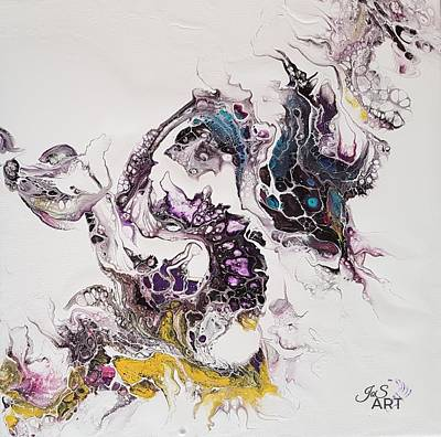 Painting - Dragon Breathe by Joanne Smoley
