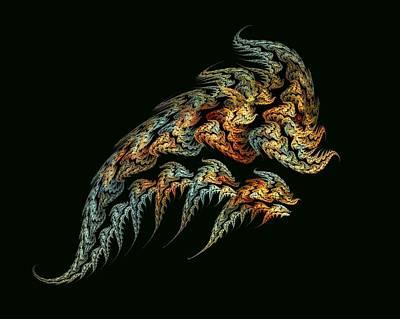 Digital Art - Dragon Brood by Doug Morgan