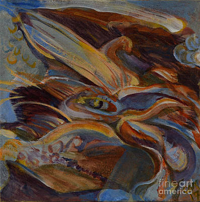 Painting - Dragon by Carol Oufnac Mahan