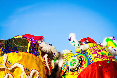 Photograph - Dragon Dance by Bobby Villapando