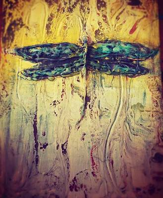Painting - Dragon Fly by 'REA' Gallery