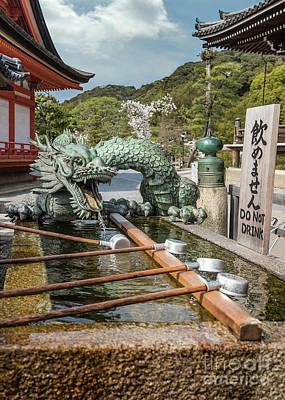 Photograph - Dragon Fountain Seiryu by Karen Jorstad