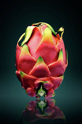 Dragon Photograph - Dragon Fruit Or Pitaya  by Johan Swanepoel