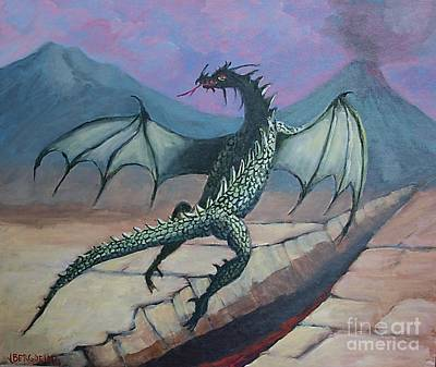 Painting - Dragon by Jean Pierre Bergoeing