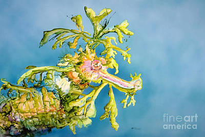 Organisms Painting - Dragon Of The Sea by Tanya L Haynes - Printscapes