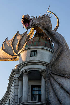 Potter Photograph - Dragon Over Diagon Alley by Matthew T Ross