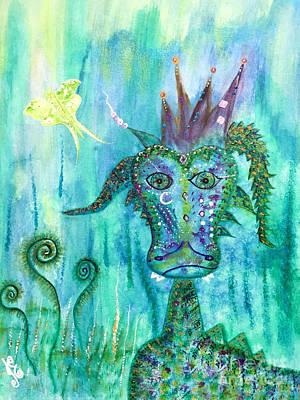Dragon Prince Art Print