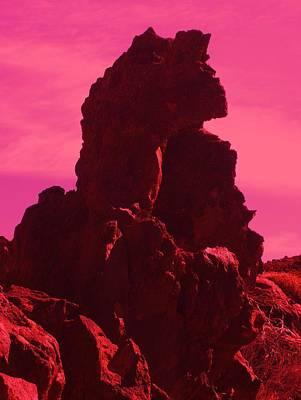 Phantasie Photograph - Dragon-rock by Ramon Labusch
