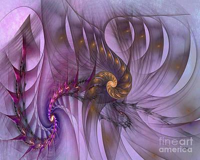 Digital Art - Dragon Seed by John Beck