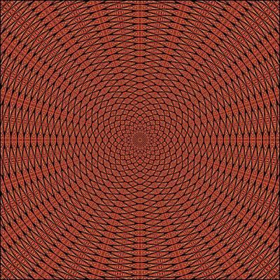 Digital Art - Dragon Spur Interferometry K20-tile by Doug Morgan
