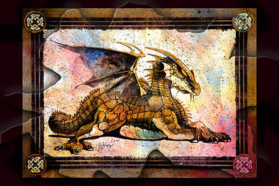Digital Art - Dragon by Tim Thomas