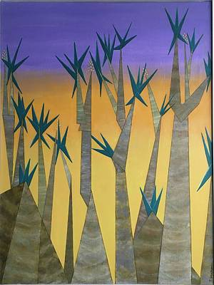 Painting - Dragon Trees by Tamara Savchenko