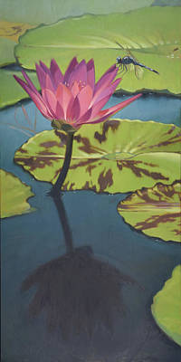 Myrtle Beach Painting - Dragonfly 2 by Todd Baxter