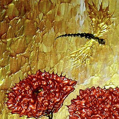 Dragonfly At Dawn Print by Daniel Lafferty