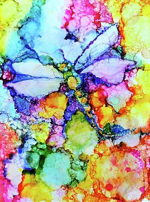Painting - Dragonfly by Debi Starr