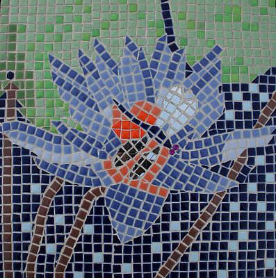 Ceramic Art - Dragonfly by Deborah Baker
