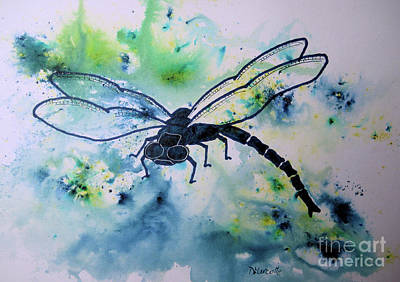 Painting - Dragonfly by Diane Marcotte