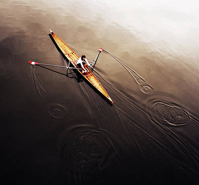Oars Photograph - Dragonfly by Fulvio Pellegrini