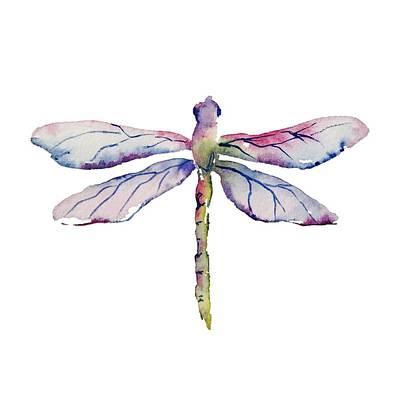 Painting - Dragonfly I by Liana Yarckin