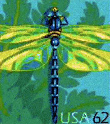 Approval Painting - Dragonfly by Lanjee Chee