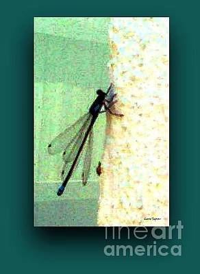 Mixed Media - Dragonfly by Leanne Seymour