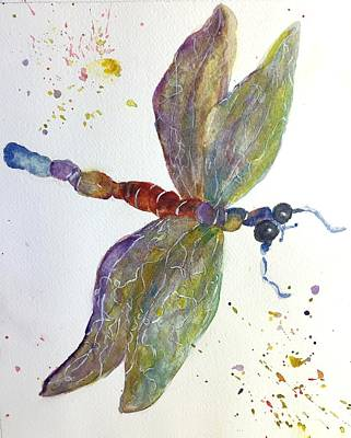 Painting - Dragonfly by Lucia Grilletto