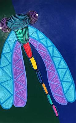 Painting - Dragonfly by Matthew Brzostoski