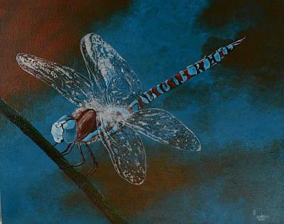 Dragonfly Art Print by Roberta Landers