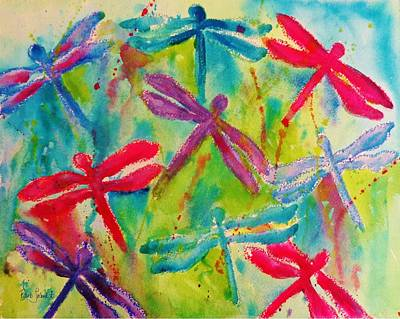 Painting - Dragonfly Springs by Barb Toland