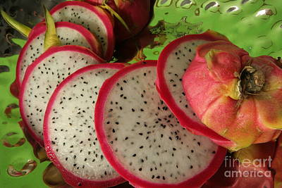 Photograph - Dragonfruit  by Christine Amstutz