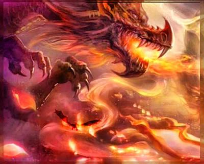 Digital Art - Dragon's Breath by Mario Carini