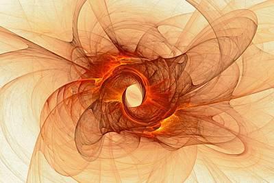 Digital Art - Dragons Fire by Doug Morgan