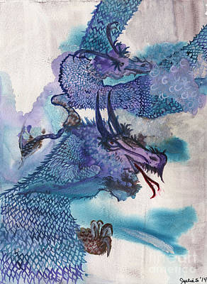 Dragons Art Print