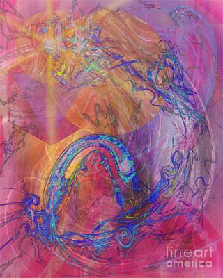 Digital Art - Dragon's Tale by John Beck