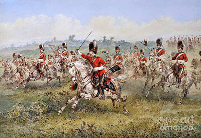 Scot Painting - Dragoons  by MotionAge Designs