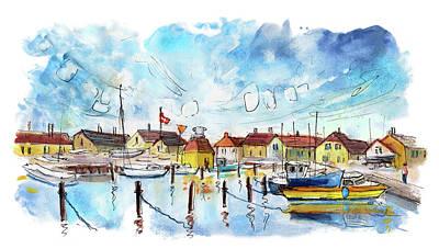 Painting - Dragor Panoramica 01 by Miki De Goodaboom