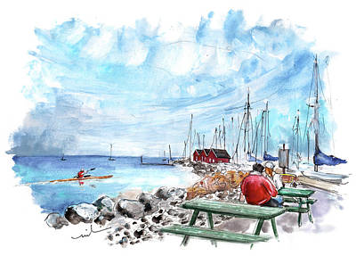 Painting - Dragor Panoramica 02 by Miki De Goodaboom