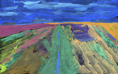 Painting - Drainage Ditch 35 by R Kyllo